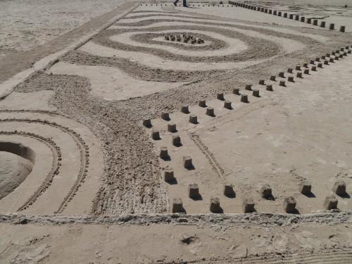 sable,sand,chateau,landart