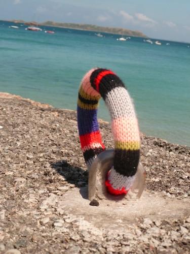 art tricoté,tricot,knitting art,landart,perros guirec