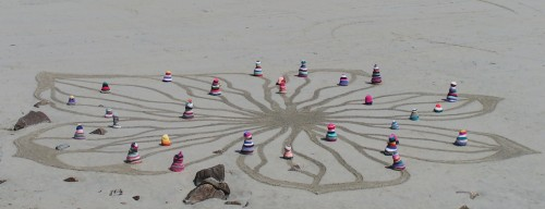knitting, tricot, yarn bombing,land art, patelge