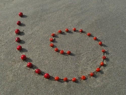 Patelgé, land art, rake art, beach art, dessin sable, art, perros-guirec, trestraou, bretagne, plage, dessins sur le sable, Baies des sables