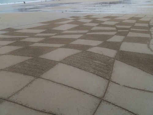 sable,sand,dessin, plage,landart