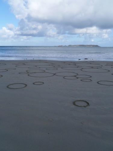cercle,sable